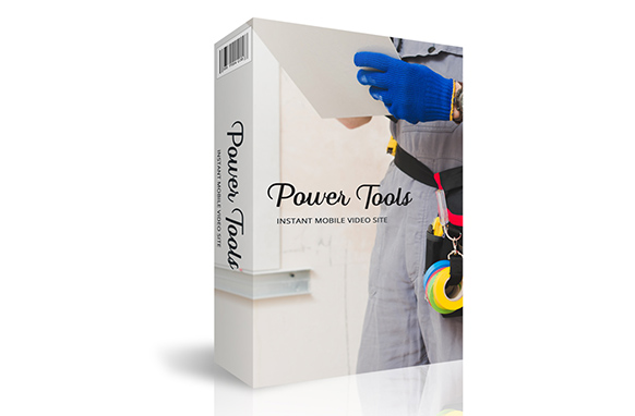 Power Tools Instant Mobile Video Site