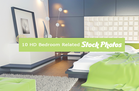 10 HD Bedroom Related Stock Images