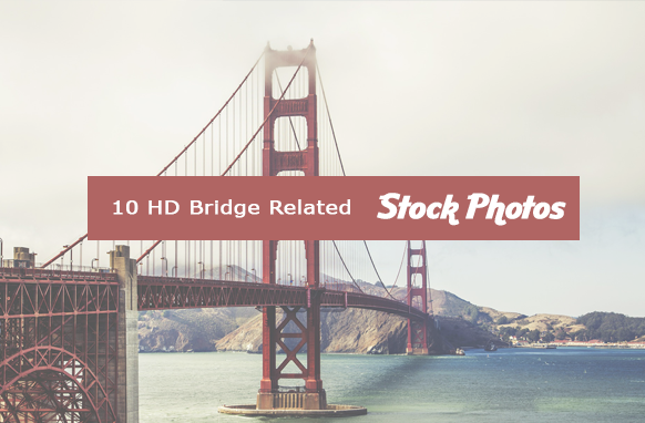 10 HD Bridge Related Stock Images