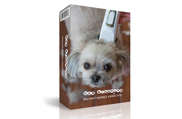 Dog Grooming Instant Mobile Video Site