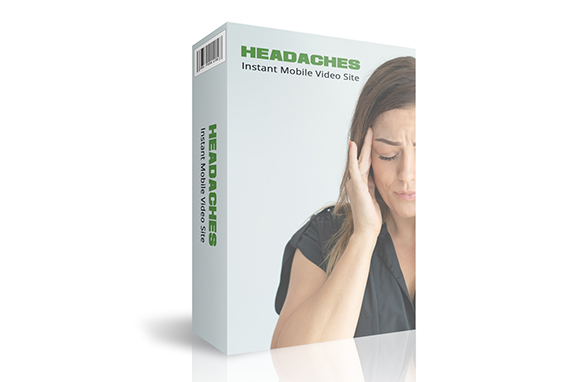 Headaches Instant Mobile Video Site