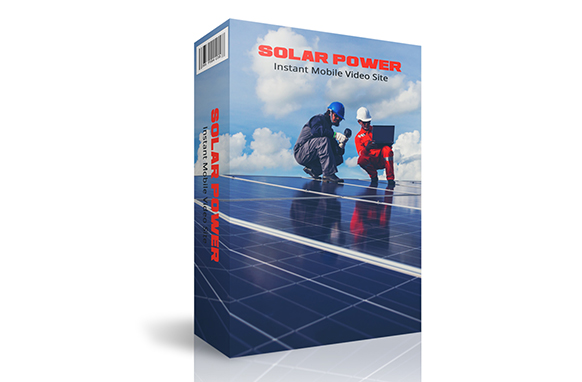 Solar Power Instant Mobile Video Site