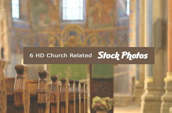 6 HD Church Related Stock Images