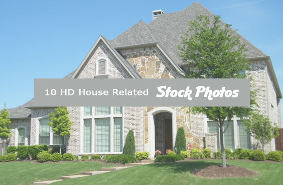 10 HD House Related Stock Images