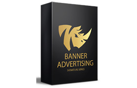 Banner Advertising Signature Series