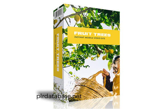 Fruit Trees Instant Mobile Video Site