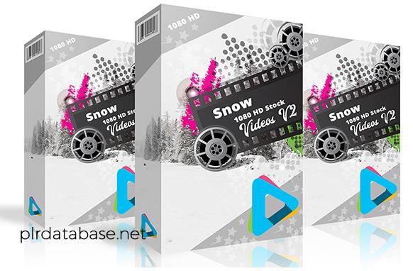 Snow 1080 HD Stock Videos V2