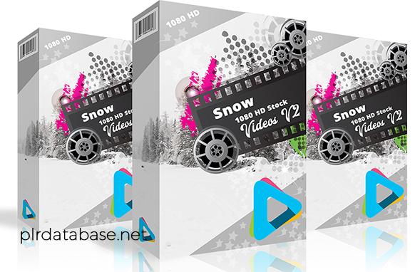 Snow 1080 HD Stock Videos V2.1