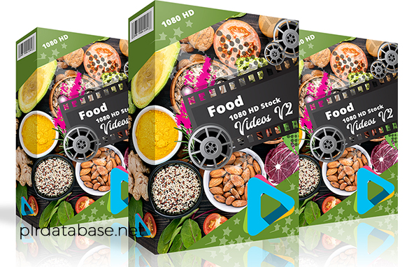 Food 1080 HD Stock Videos V2.1