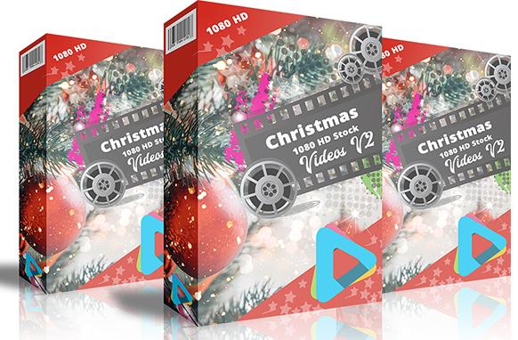 Christmas 1080 HD Stock Videos V2