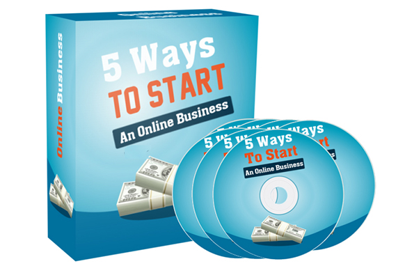 5 Ways To Start An Online Business