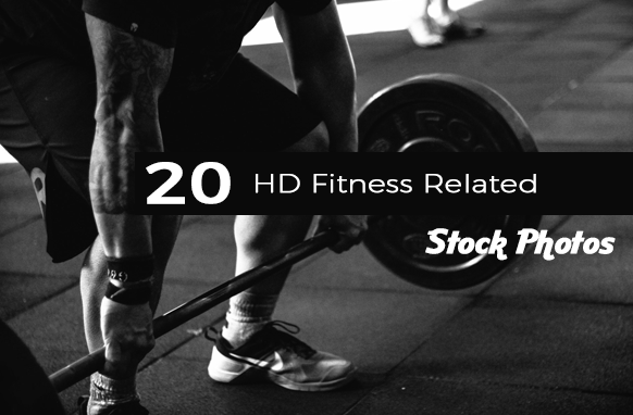 20 HD Fitness Related Stock Photos