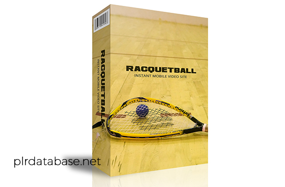 Racquetball Instant Mobile Video Site