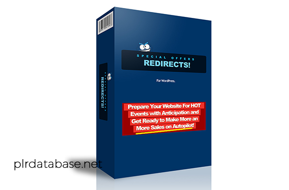 Special Offers Redirects WordPress Plugin
