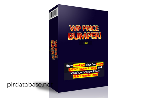 WP Price Bumper Pro WordPress Plugin