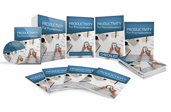 Productivity For Procrastinators Upgrade Package
