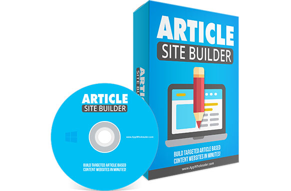 Article Site Builder