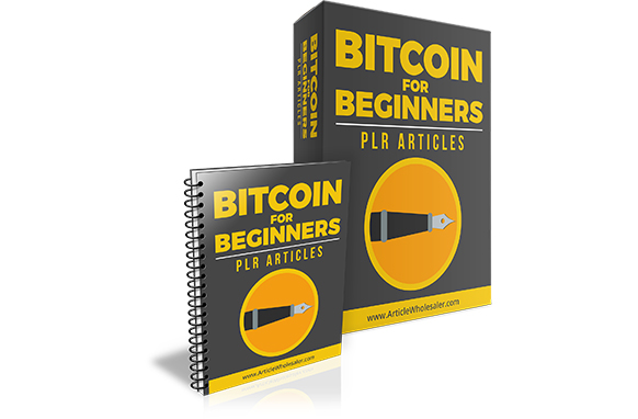 Bitcoin for Beginners PLR Articles