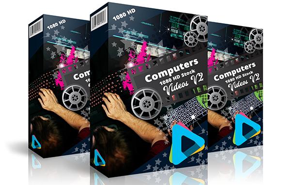 Computer 1080 HD Stock Videos V2