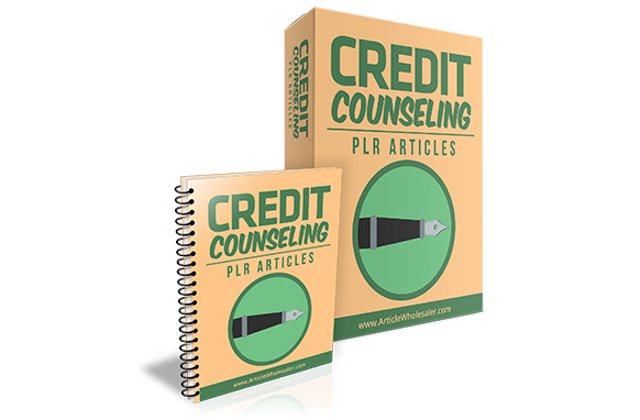 Credit Counseling PLR Articles