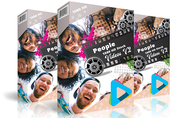People 1080 HD Stock Videos V2.1