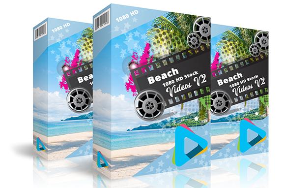 Beach 1080 HD Stock Videos V2