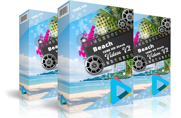 Beach 1080 HD Stock Videos V2.1