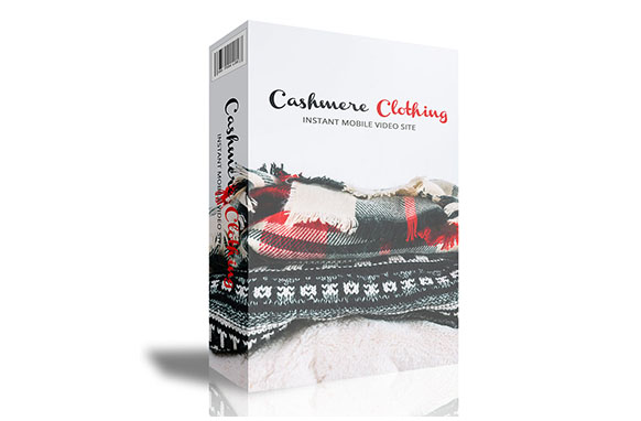 Cashmere Clothing Instant Mobile Video Site