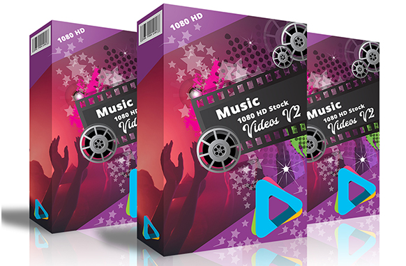Music HD 1080 Stock Videos V2