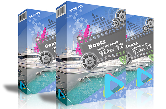 Boats HD 1080 Stock Videos V2