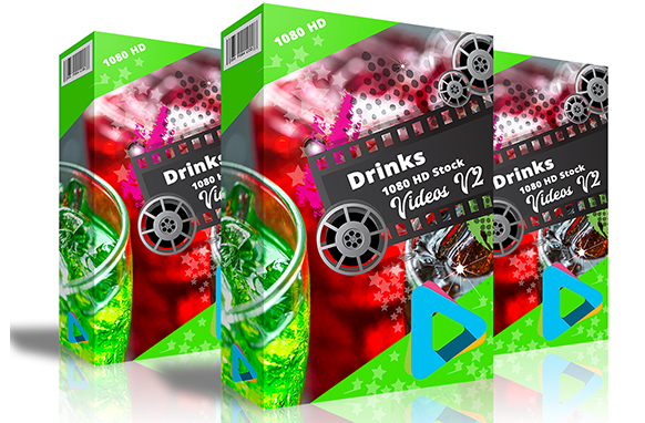 Drinks HD 1080 Stock Videos V2