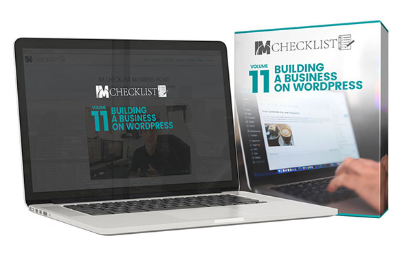 IM Checklist V11 – Building a Business On WordPress