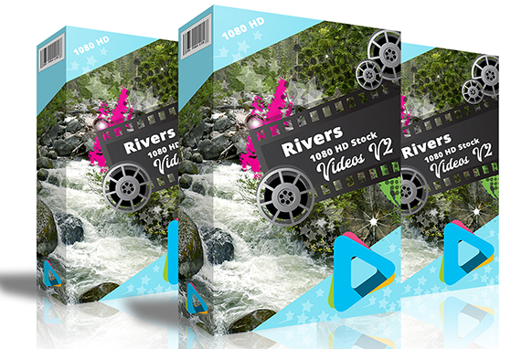River HD 1080 Stock Videos V2.1