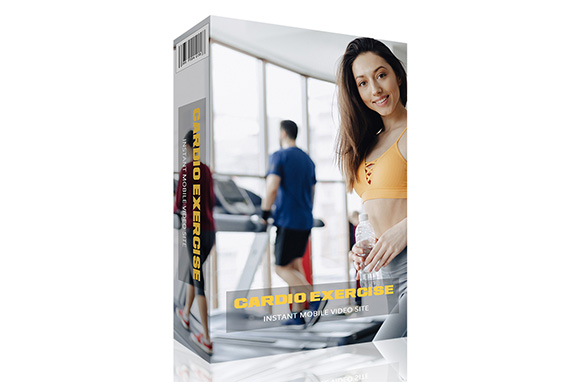Cardio Exercise Instant Mobile Video Site