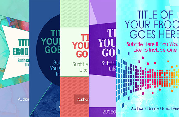 5 Ebook Templates With Covers