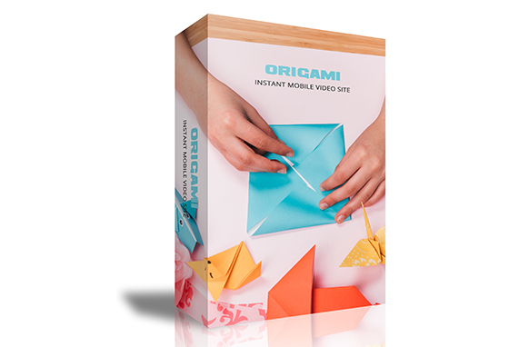 Origami Instant Mobile Video Site