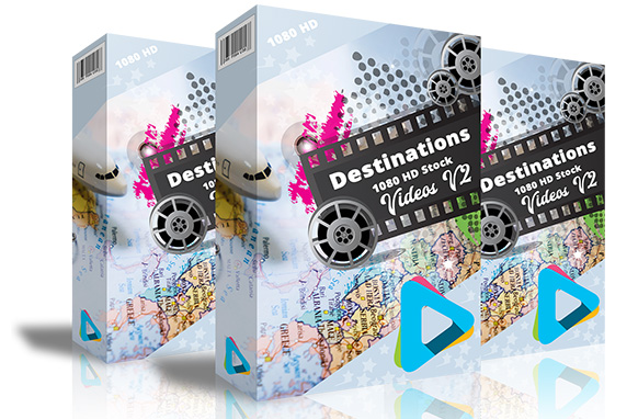 Destinations 1080 HD Stock Videos V2