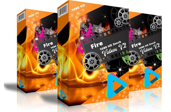 Fire 1080 HD Stock Videos V2
