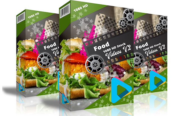 Food 1080 HD Stock Videos V2