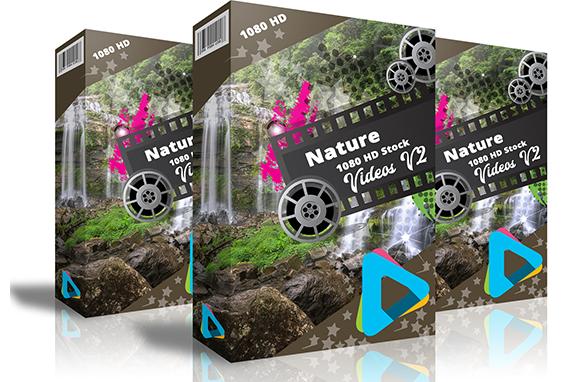 Nature 1080 HD Stock Videos V2.2