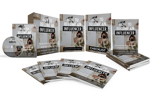 How To Become An Influencer Upgrade Package