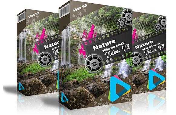 Nature 1080 HD Stock Videos V2.3