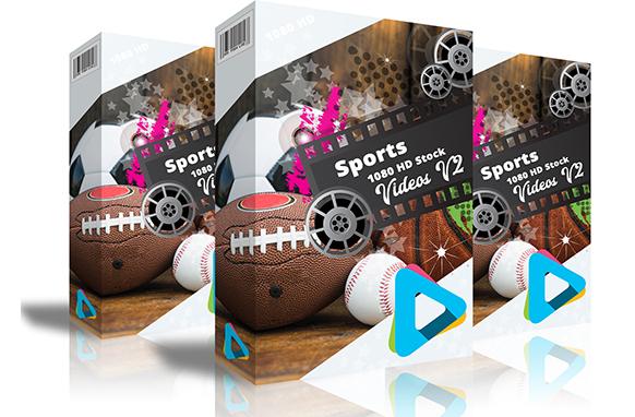 Sports 1080 HD Stock Videos V2.1