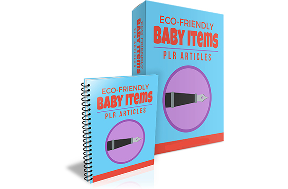 Eco-Friendly Baby Items PLR Articles