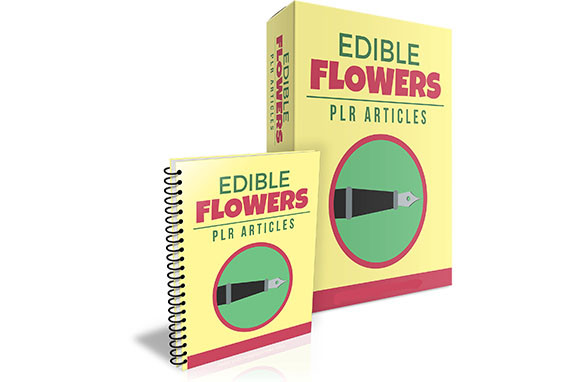 Edible Flowers PLR Articles
