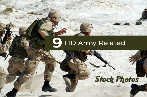 9 HD Army Related Stock Photos