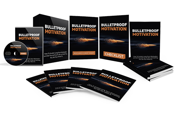 Bulletproof Motivation Upgrade Package