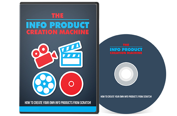 The Info Product Creation Machine