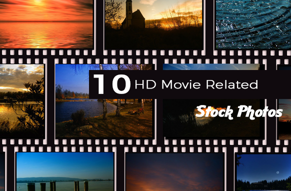 10 HD Movie Related Stock Photos