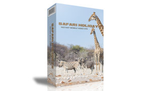 Safari Holidays Instant Mobile Video Site